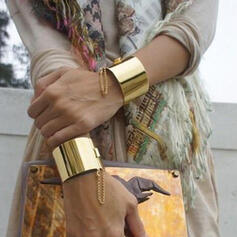 Exotic Boho Alloy Bracelets 2 PCS