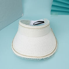Dames/Femmes Unique/Simple Coton Chapeaux de plage / soleil