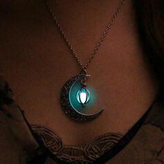 Le plus chaud Lumineuse Alliage avec Lune Colliers