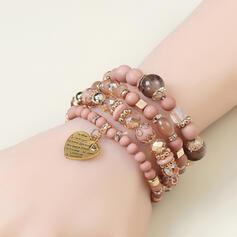 À la mode Alliage Résine avec Conception de serpent Femmes Bracelets 4 PIÈCES
