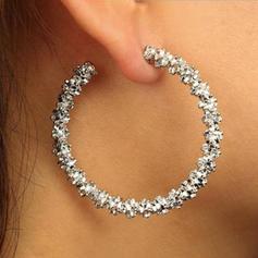Chic Alliage Femmes Boucles d'oreille de mode (Vendu dans une seule pièce)