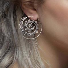 Unique Torsion Alliage Femmes Boucles d'oreilles 2 PCS