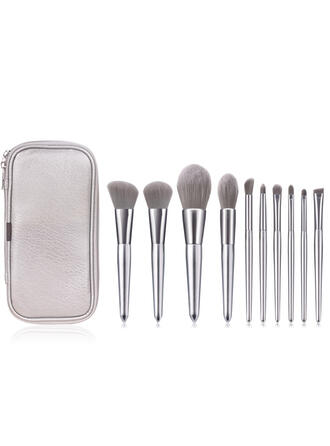 10 PCS Poignée de conception de coque Ensembles de pinceaux de maquillage
