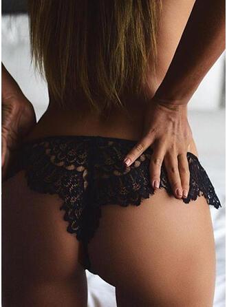 Lace Brief Thong Panty