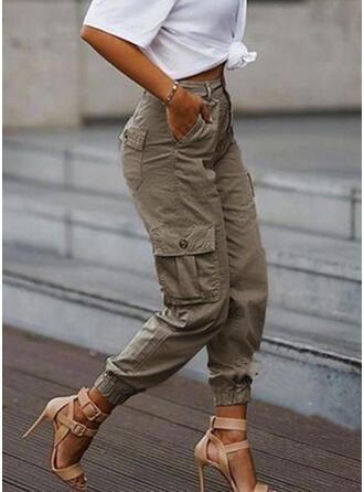 Les poches Grande taille Camouflage Décontractée Tribal Pantalon