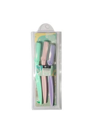 3 PCS Tweezers & Eyebrow tools