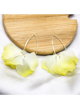 Fashionable Alloy Women's Ladies' Earrings