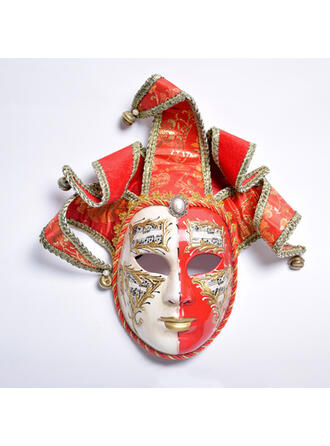 Vintage Horrifying Exotic Halloween Ghost Trick or Treat Cloth PP Halloween Props Mask